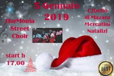 locandina Harmonia Street Choir_ 5 dicembre C.bello