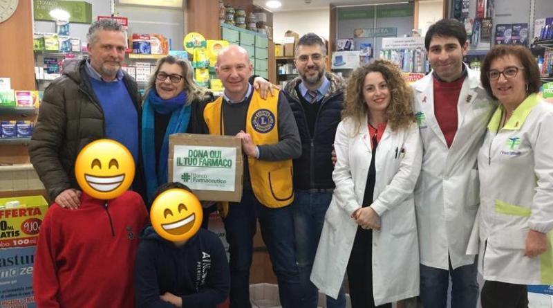 """Lions club """"Fata Morgana"""": I numeri del Banco Farmaceutico"""