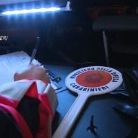 Carabinieri strage del sabato sera, 14 deferiti in stato di liberta' per guida in stato di ebbrezza 14 patenti ritirate e 10 mezzi sequestrati