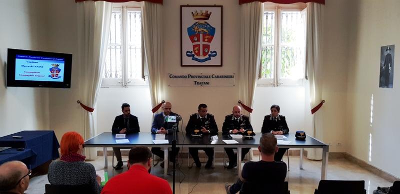 Trapani. 4 nuovi Ufficiali presso il Comando Provinciale dei Carabinieri