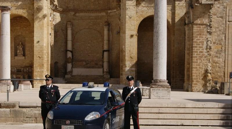 Salemi. Carabinieri in prima linea per contrastare l'emergenza sanitaria(Video)