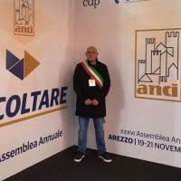 Santa Ninfa: Il sindaco Lombardino all'assemblea dell'Anci ad Arezzo