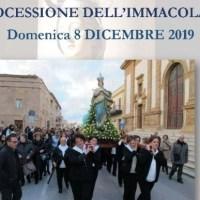 Campobello. Chiesa Madre: Processione dell'Immacolata, l'itinerario