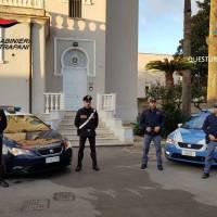 Marsala. Operazione congiunta di Carabinieri e Polizia: 5 in manette per furto