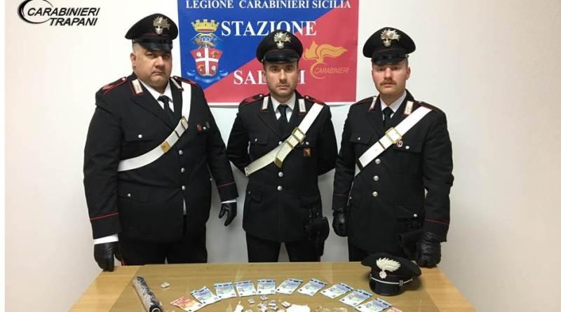 Salemi. Giro di vite dei Carabinieri: arrestato 1 spacciatore e 1 rapinatore
