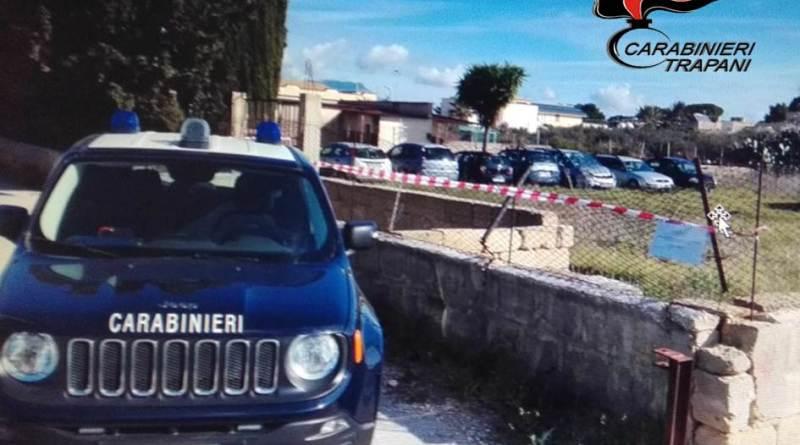 Trapani. Servizio dei Carabinieri per la tutela dell'ambiente: 2 denunciati