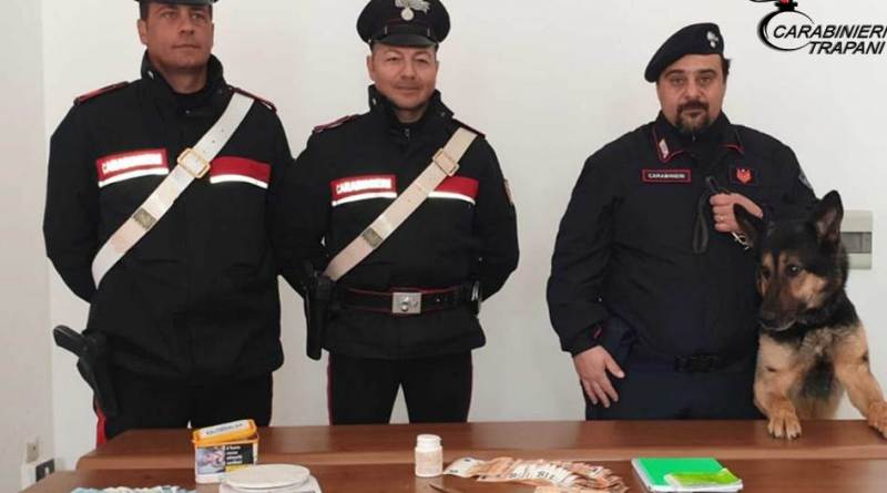 """Marsala. Servizi antidroga dei Carabinieri: con lo zampino di """"Ulisse"""" 65enne in manette"""