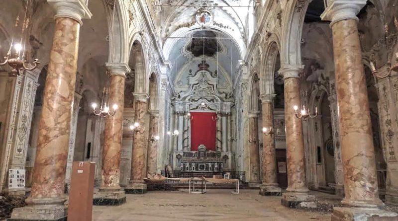 [Diocesi] Castelvetrano. Al via l'intervento strutturale nella chiesa del Purgatorio
