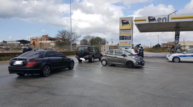 [#Iorestoacasa] Mazara. Proseguono i controlli della Polizia Municipale