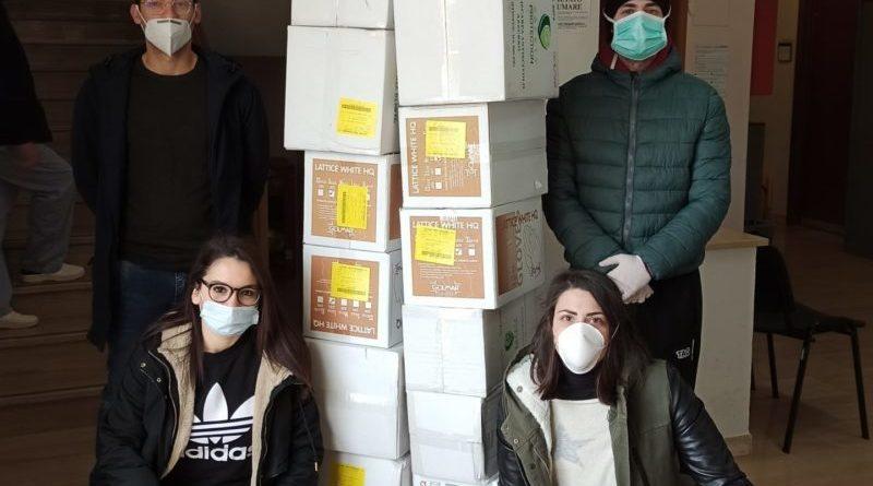 Trapani. Prime consegne materiali all'Ospedale Sant'Antonio