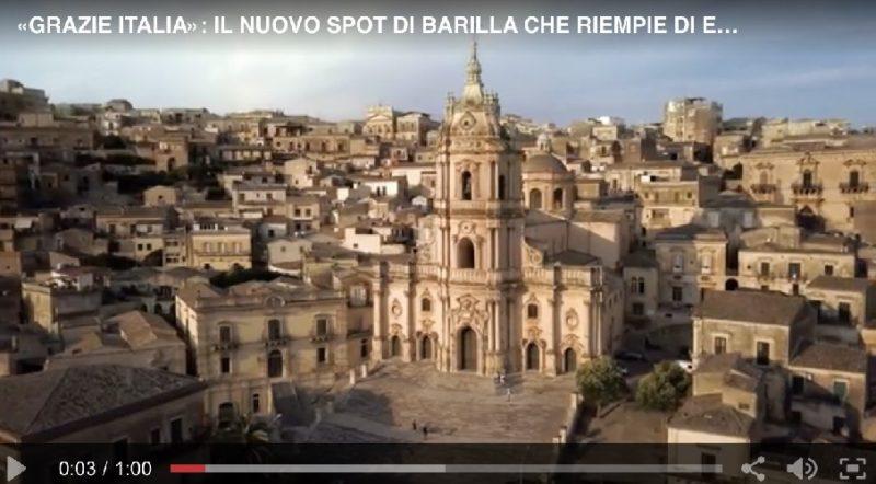 Barilla sceglie Modica e commuove con la musica di Vangelis (Video)