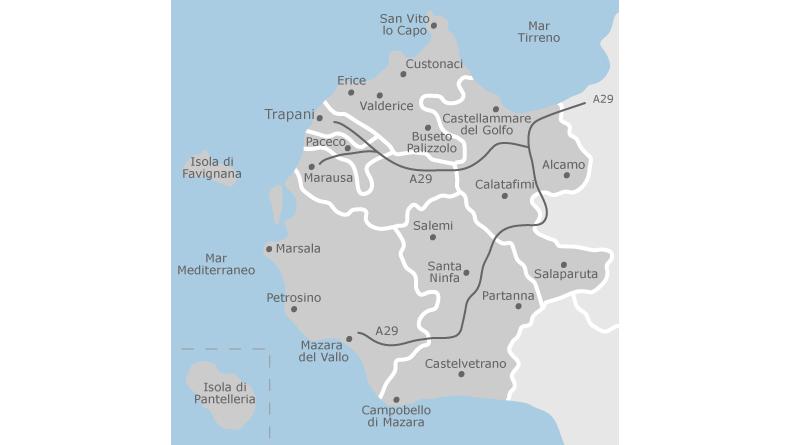 Turismo sostenibile a Trapani e in altri 11 comuni della provincia,dall'Europa 890 mila euro per finanziare attività extra agricole
