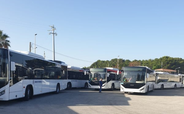 Marsala. 11 Nuovi autobus Euro 6 acquistati con fondi europei