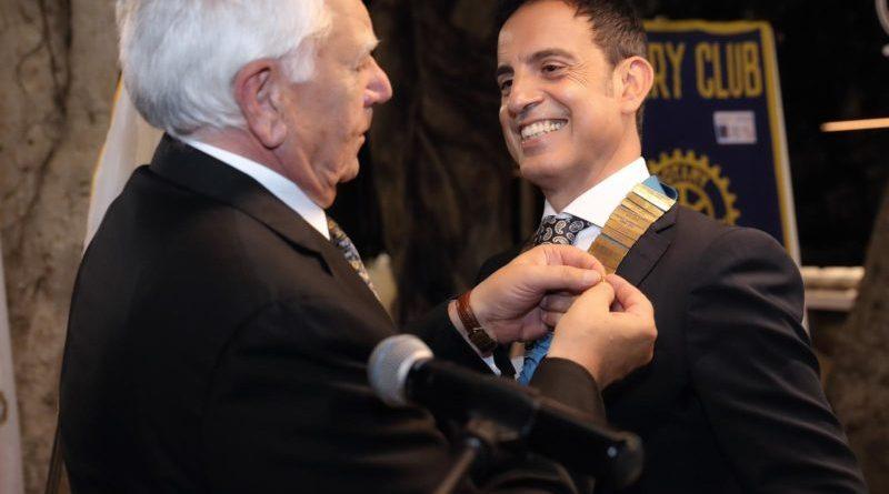 Giuseppe Abbate è il nuovo Presidente del Rotary Club Marsala: ieri il Passaggio della Campana