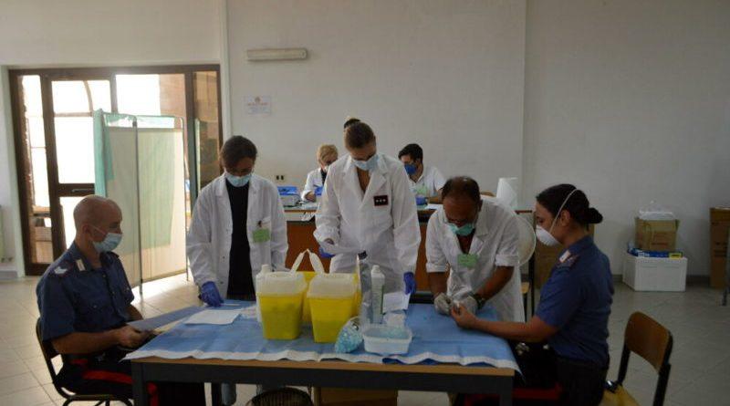 """""""Sicuri per la tua sicurezza"""".  Fondazione Ania: 35mila test sierologici per i Carabinieri"""
