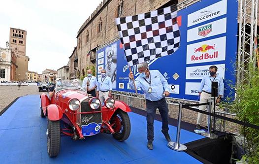 [Autostoriche] G. P. Nuvolari: Ottavo sigillo per Andrea Vesco su Alfa Romeo Zagato. Al terzo posto il campobellese Mario Passanante