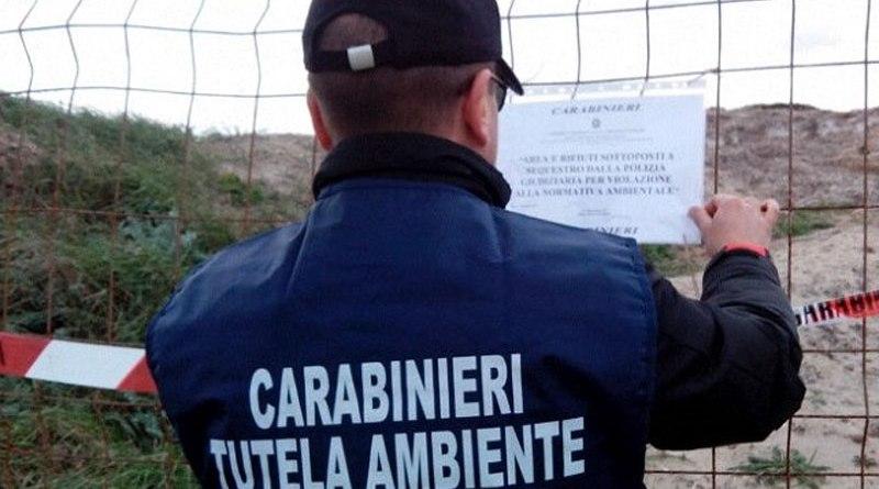 Milano. Contrasto ai roghi di rifiuti nel Nord Italia: vasta attività del Noe Carabinieri: Scoperte discariche abusive per 24.000 tonnellate di rifiuti
