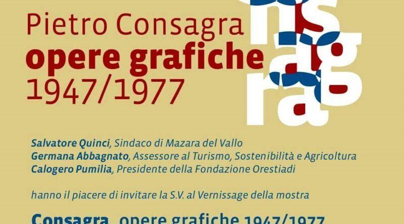 Pietro Consagra: Opere grafiche 1947-1977.La collezione del Museo Civico di Mazara del Vallo