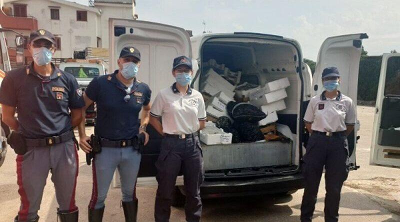 Sequestrato sulla A29 Palermo Mazara del Vallo 450 chili di pesce privo di tracciabilità.