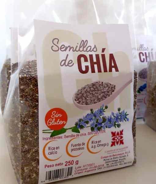 Comprar semillas de chía