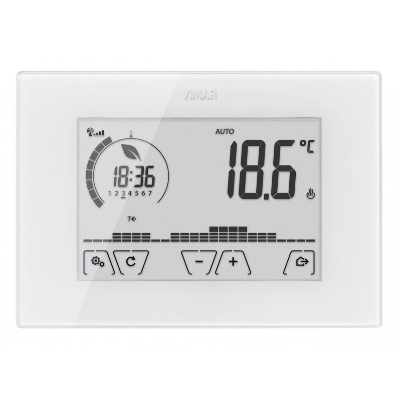 Vimar 02911  Cronotermostato WiFi  Touch Screen  Parete