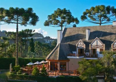 Vista da Fachada - Pousada Campos de Provence