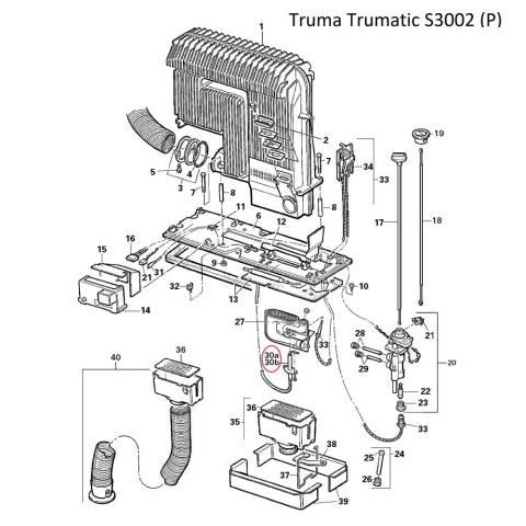 Truma S 2200 3002 5002 Zündkerze 75cm