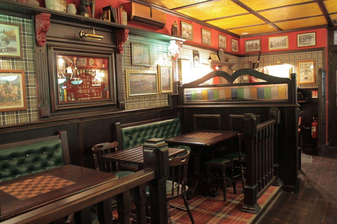 Arredamento Pub stile Scottish  Camproject