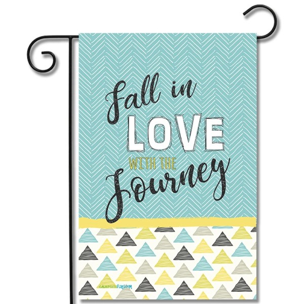 Camping Flag Fall In Love With The journey