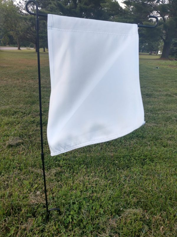 Flag Accessory Stand with blank flag