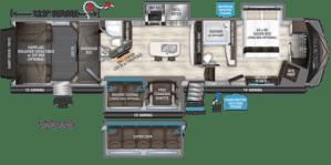 Atlanta RV Show Fall 2018 Favorite RV floorplan