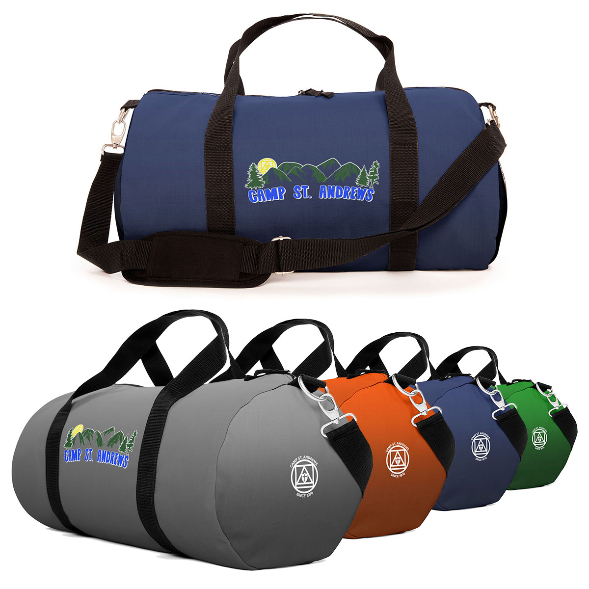 New custom bags available in the Camp St  Andrews merchandise shop