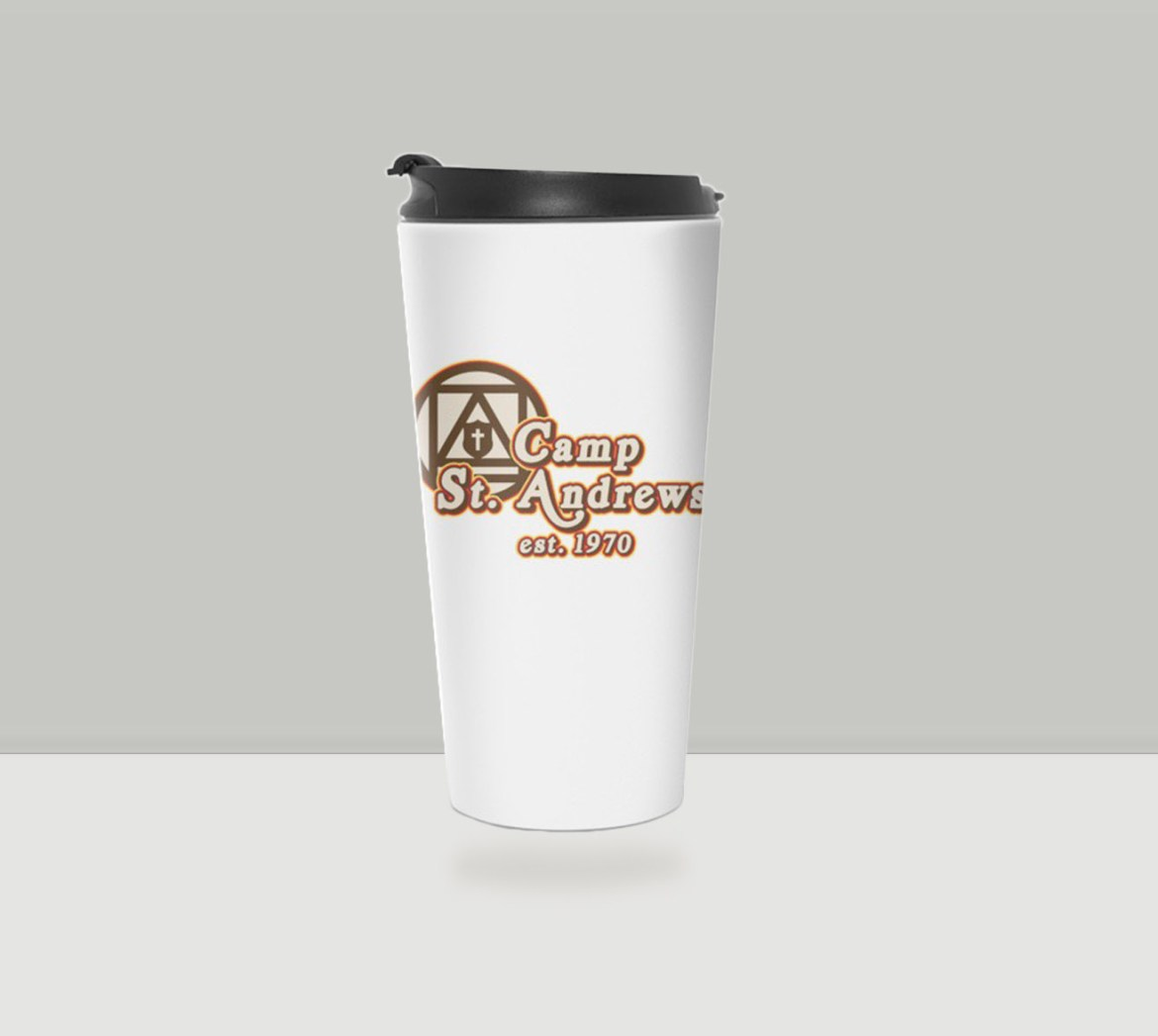 Camp St. Andrews 2020 70s Style Travel Mug