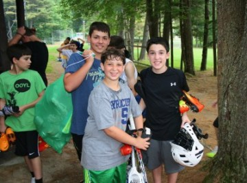 Senior campers