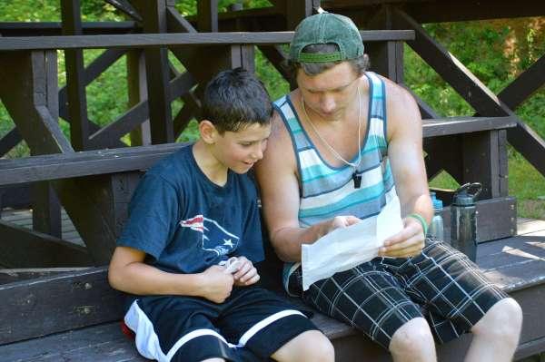 camper and counselor at Camp Takajo