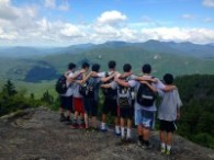 Camp Takajo Senior Campers on a Trip 2014