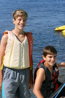 Camp Takajo for Boys in Maine Sailing 2015