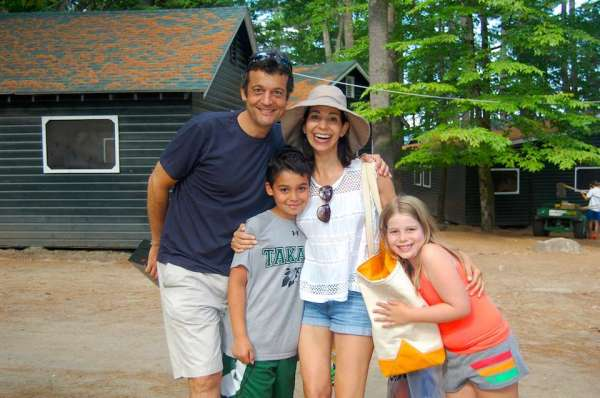 Visiting Day at Camp Takajo for Boys in Naples, Maine