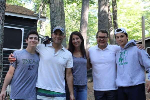 Camp Takajo Visiting Day 2018 in Naples, Maine, USA