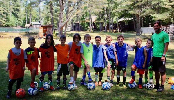 Soccer Specific Training (NJ) at Camp Takajo in Naples, Maine, USA