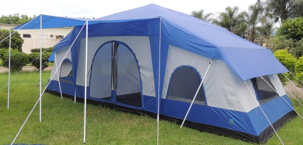 Large 4 Room Camping Tents