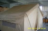 Rain On A Canvas Tent & ... Split Tent - Ellis Canvas ...