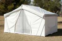 Optional Polyester Rain Fly | For Pinnacle Canvas Tent 646