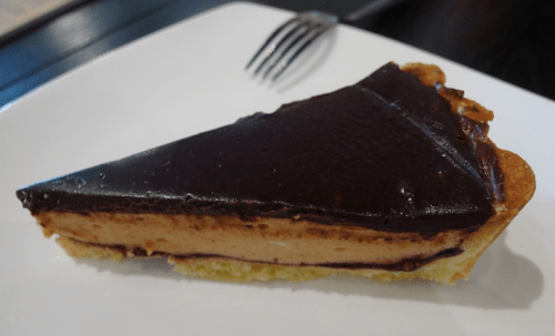 Chocolate and Peanut Butter Tart