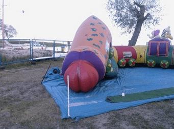 penis bouncy house