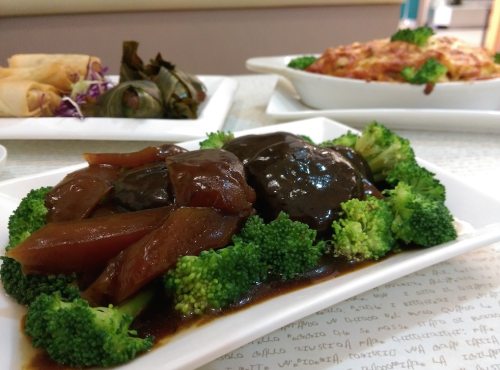 Broccoli With Sea Cucumber - $10-$18