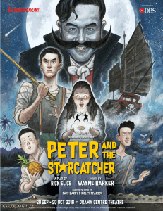 Pangdemonium's Peter and the Starcatcher @ Drama Centre Theatre | Singapore | Singapore