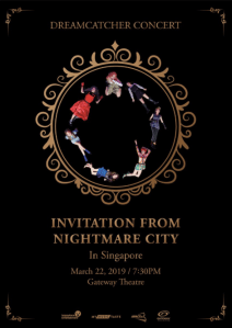 Dreamcatcher Concert: Invitation from Nightmare City @ Gateway Theatre, Main Theatre