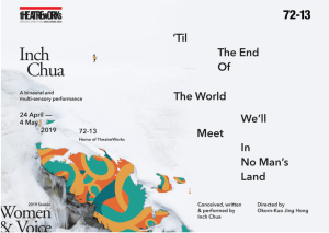 TheatreWorks presents 'Til The End Of The World, We'll Meet In No Man's Land @ 72-13 Home of TheatreWorks