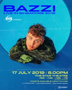 Bazzi: Asia Tour in Singapore @ The Star Theatre